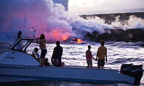 Explore Volcanos in Big Island (package for 4)