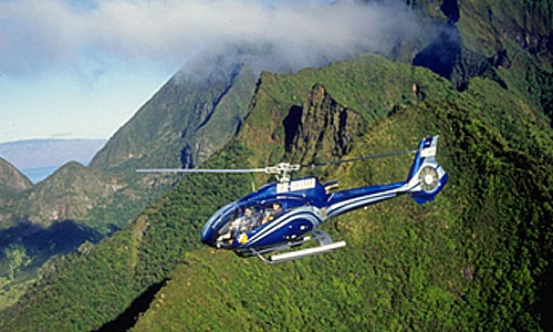 Blue Hawaiian Helicopter